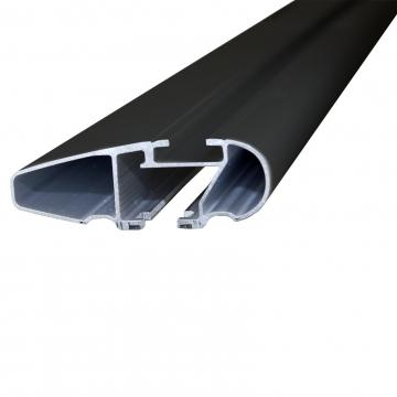 Dachträger Thule WingBar Edge für Peugeot 407 Stufenheck 10.2004 - jetzt Aluminium