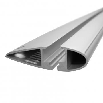 Dachträger Yakima Flush für Mercedes CLS Coupe 01.2011 - jetzt Aluminium