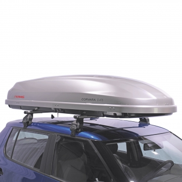 Dachbox Kamei Corvara S 475 grau silber