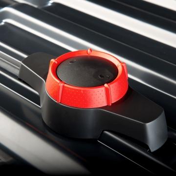 Dachbox Hapro Traxer 6.6 grau silber