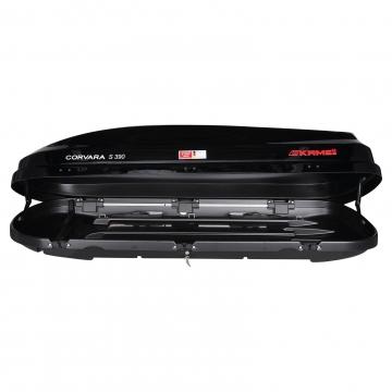 Dachbox Kamei Corvara S 390 schwarz glänzend