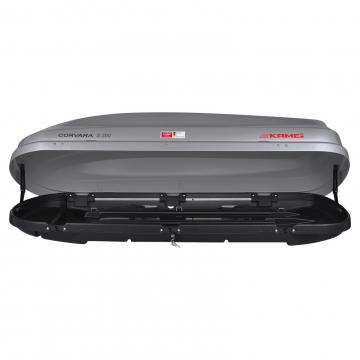 Dachbox Kamei Corvara S 390 grau silber