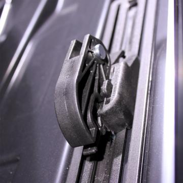 Dachbox Junior Altro 460 schwarz matt