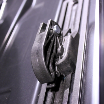 Dachbox Junior Altro 500 schwarz matt