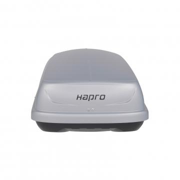 Dachbox Hapro Traxer 5.6 grau silber