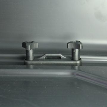 Dachbox Junior PRE 460 grau glänzend