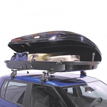 Dachbox Kamei 510 schwarz glänzend