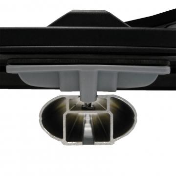 Dachbox Kamei Oyster 450 schwarz glänzend